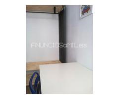 habitación centrica para estudiantes en piso compartido