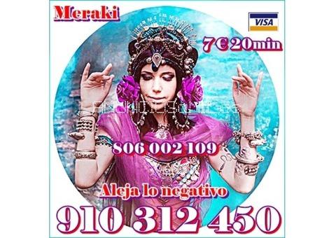 Videncia Pura y Tarot 5 € 15 min. 9€ 30min. 910 312 450
