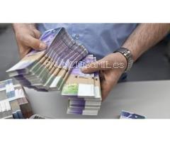 oferta de préstamo entre persona seria y honesta en 72h