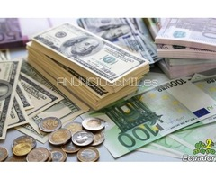 Ofrecen préstamos dinero fácil y Rápido entre particulares