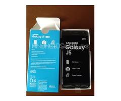 SAMSUNG GALAXY J5 2017, 16GB, 4G LTE, Dual SIM, NEGRO (modelo J530F)