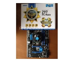 VENDO Placa-base-MSI-Z97-PC-Mate-CPU-Intel-Core-i3-4170-LGA-1150