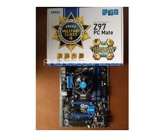 VENDO Placa-base-MSI-Z97-PC-Mate-CPU-Intel-Core-i3-4170-LGA-1150