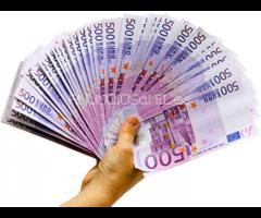 Oferta de préstamo e inversión a las seriedades