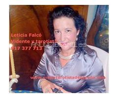 Leticia Falcó, vidente de nacimiento autentica y Maestra Tarotista
