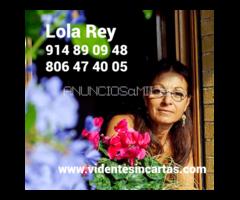 Lola Rey y soy una vidente real