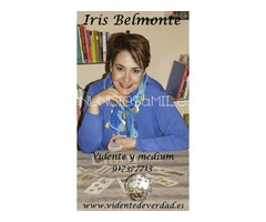 vidente buena, Iris Belmonte