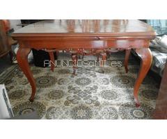 conjunto de muebles rusticos