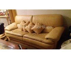 OFERTA!Sofa 3 plazas piel espesorada
