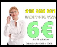 Tarot con sol a 6 euros los 30 minutos