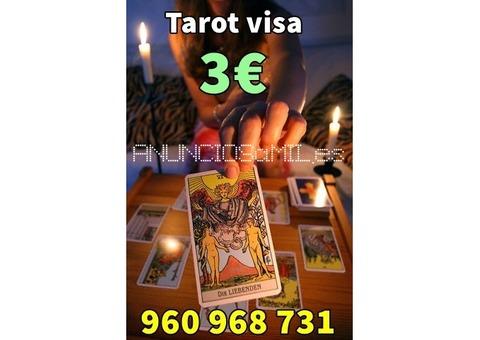 Tarot y Videncia confiable solo por 3 Euros