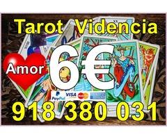 Tarotistas del amor por 6 Euros