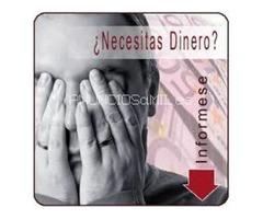 Servicios financieros de crédito!!