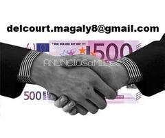 OFERTA DE PRÉSTAMO: delcourt.magaly8@gmail.com