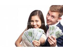 Oferta de préstamo entre persona seria