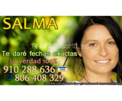 La verdadera Salma, vidente y astróloga