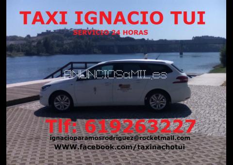 TAXI IGNACIO TUI, Servicio 24 horas en Tui, Pontevedra
