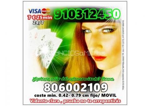 LINEA 910312450/806002109 DESDE 0.42 EUR MI FIJO/0.79 MOVIL