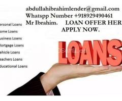 LOAN OFFER: QUICK RESPONSES APPLY