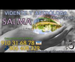 Salma astrologa y vidente.