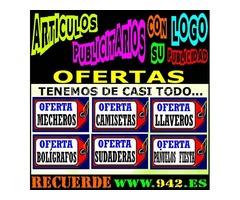 Oferta en ARTICULOS PUBLICITARIOS