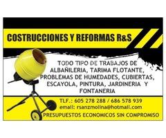 CONSTRUCCIONES Y REFORMAS R&S