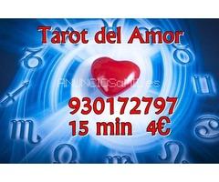 4€ 15 min.Tarot profesional y económico 930172797