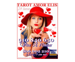 Tarot  de amor barato Elis 910 840 650