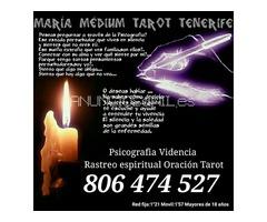 VIDENTE EN LA GOMERA PSICOGRAFIA TAROT 806 747 527