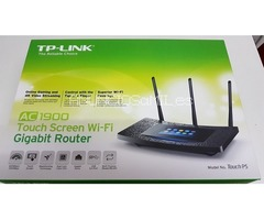 Vendo Router TP-LINK Router Wi-Fi Gigabit Pantalla Táctil AC1900