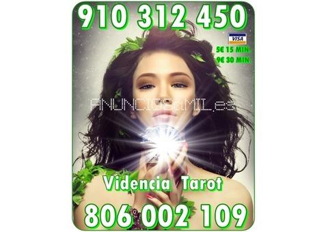 La Mejor Oferta Tarot Visa 910 31 24 50 VISA desde 5 € 15 min. 9€ 30min / 806 002 109