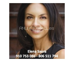 Elena Saura, vidente de nacimento, SIN GABINETE