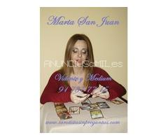 Marta San Juan, vidente y tarotista sin preguntas, solo la verdad.