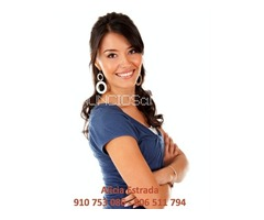 Alicia Estrada, vidente española, sin gabinete