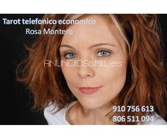 TAROT ECONOMICO ROSA MONTERO. SIN GABINETE.