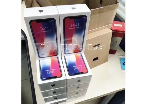 Compra 2 y obtenga 1 gratis Apple iPhone X 64GB $800 dolares Whatsapp :: +27620680277